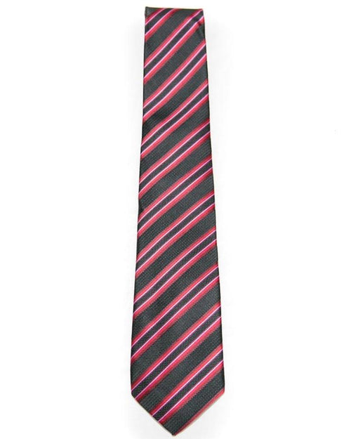Red & Black Self Lining Tie For Men – JB-2008 - Ties - diKHAWA Online Shopping in Pakistan