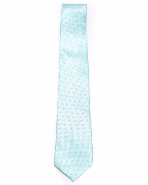 Mini Check Sky Blue Tie For Men – JB-2030 - Ties - diKHAWA Online Shopping in Pakistan