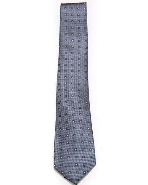 Mens Ties – Black Square With Dot – JB-2036 - Ties - diKHAWA Online Shopping in Pakistan