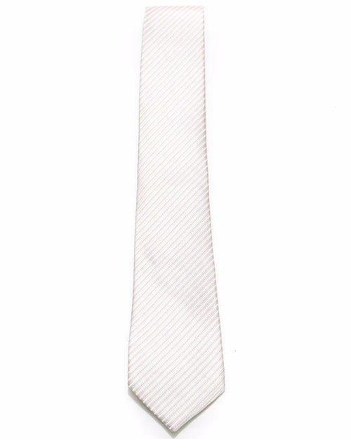 White Tie With Stripes For Men – JB-2035 - Ties - diKHAWA Online Shopping in Pakistan
