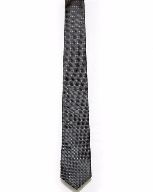 Black Tie For Men – Micro Square – JB-2050 - Ties - diKHAWA Online Shopping in Pakistan