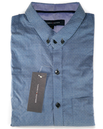 Mens Cotton Dotted Design Shirts & Party Shirts By Tommy Hilfiger