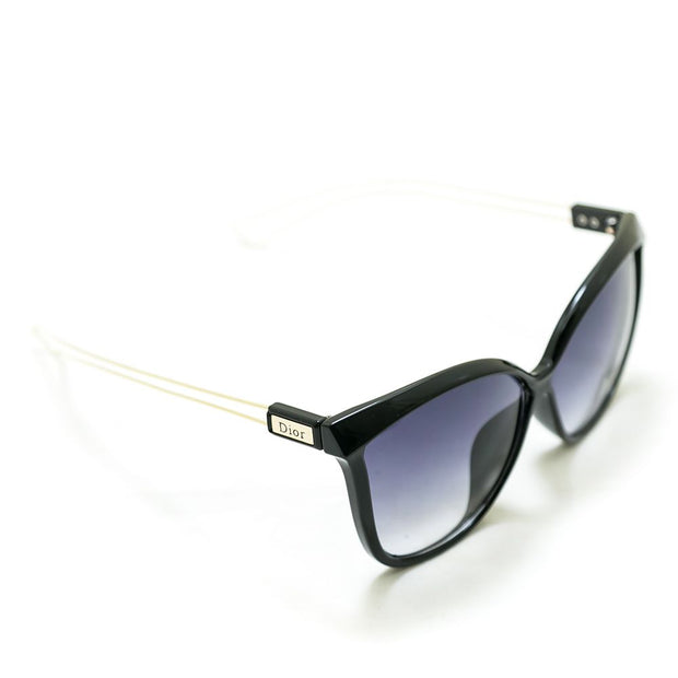 Dior Ladies Sunglasses – 9230 – Black & Golden Frame - Ladies Sunglasses - diKHAWA Online Shopping in Pakistan