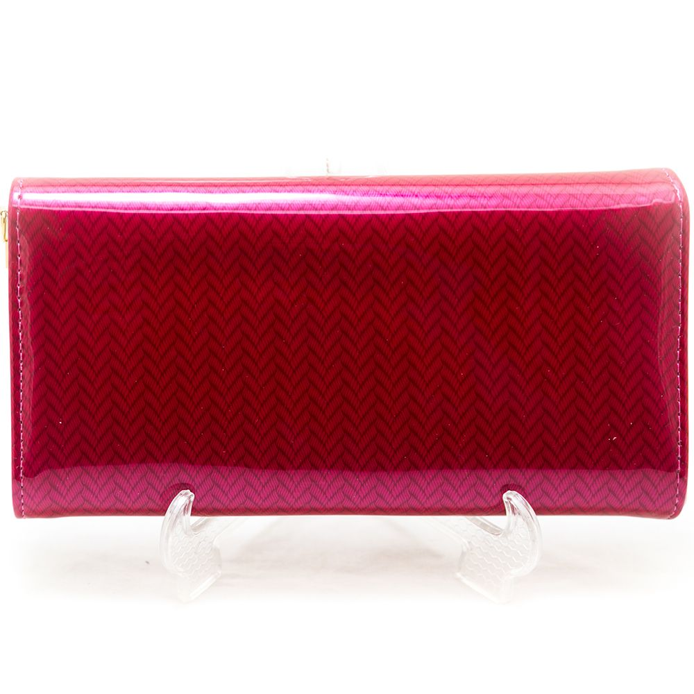 Ladies Hand Purse – Glossy Red – HPS-08 - Ladies Purse - diKHAWA Online Shopping in Pakistan