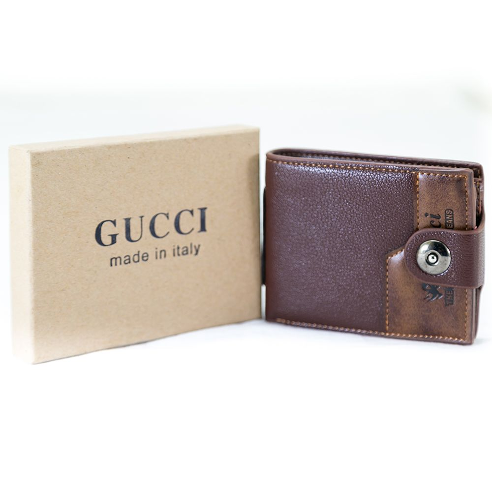 Gucci Wallets For Men – MWS-104 - Mens Wallets - diKHAWA Online Shopping in Pakistan