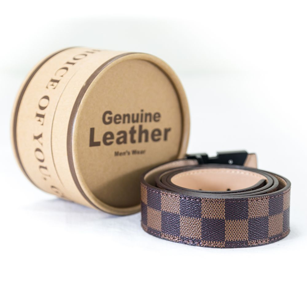 LV Leather Belts For Men – MBS-102 - Belts - diKHAWA Online Shopping in Pakistan