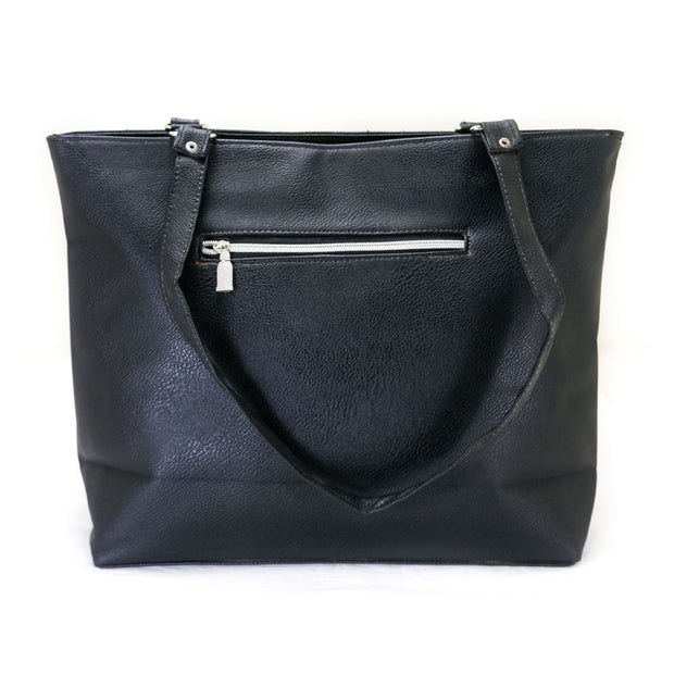 Branded Ladies Handbag & Shoulder Bag – Black - Ladies Handbags - diKHAWA Online Shopping in Pakistan