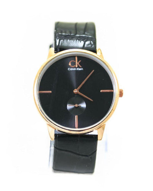 Ck Calvin Klein Mens Watches With Black Dial & Black Belt – WL-4021 - Mens Watches - diKHAWA Online Shopping in Pakistan