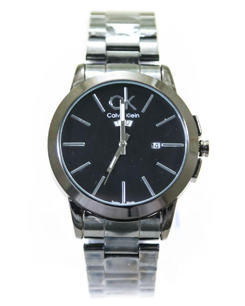 Buy Ck Calvin Klein Mens Watches With Black Dial & Black Chain – WL-4023 Online in Karachi, Lahore, Islamabad, Pakistan, Rs.1000.00, Mens Watches Online Shopping in Pakistan, Calvin Klein, cf-type-watches, cf-vendor-calvin-klein, diKHAWA Online Shopping in Pakistan
