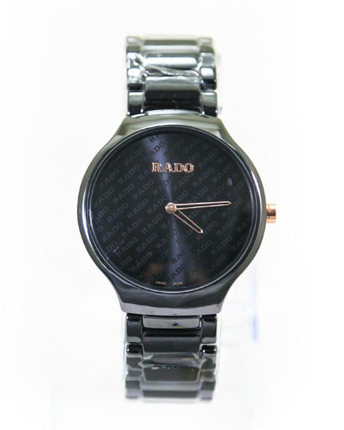 Rado Mens Watches Black Dial & Black Chain – Slim Watch – MWS-211C - Mens Watches - diKHAWA Online Shopping in Pakistan