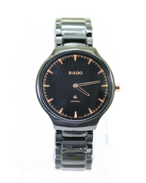 Rado Mens Watches Black Dial & Black Chain – Slim Watch – MWS-212C - Mens Watches - diKHAWA Online Shopping in Pakistan