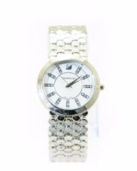 Swarovski Ladies Watch – Silver Chain With White Dial - Ladies Watches - diKHAWA Online Shopping in Pakistan