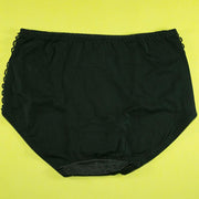 Silk Net Panty Soft Cotton - Flourish Mix Colors Soft Cotton Silk Net Panty Colour Black - 2372