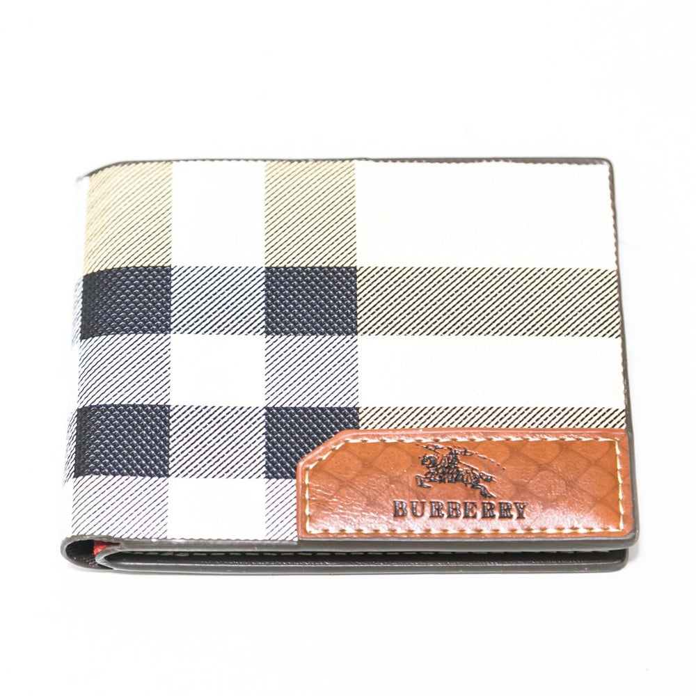 Burberry Wallets For Men - Off White – A2048 - Mens Wallets - diKHAWA Online Shopping in Pakistan