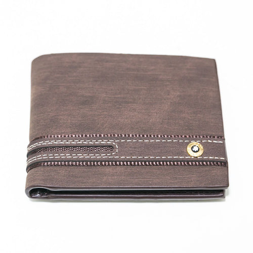 Mont Blanc Wallets For Men - Brown – A2050 - Mens Wallets - diKHAWA Online Shopping in Pakistan