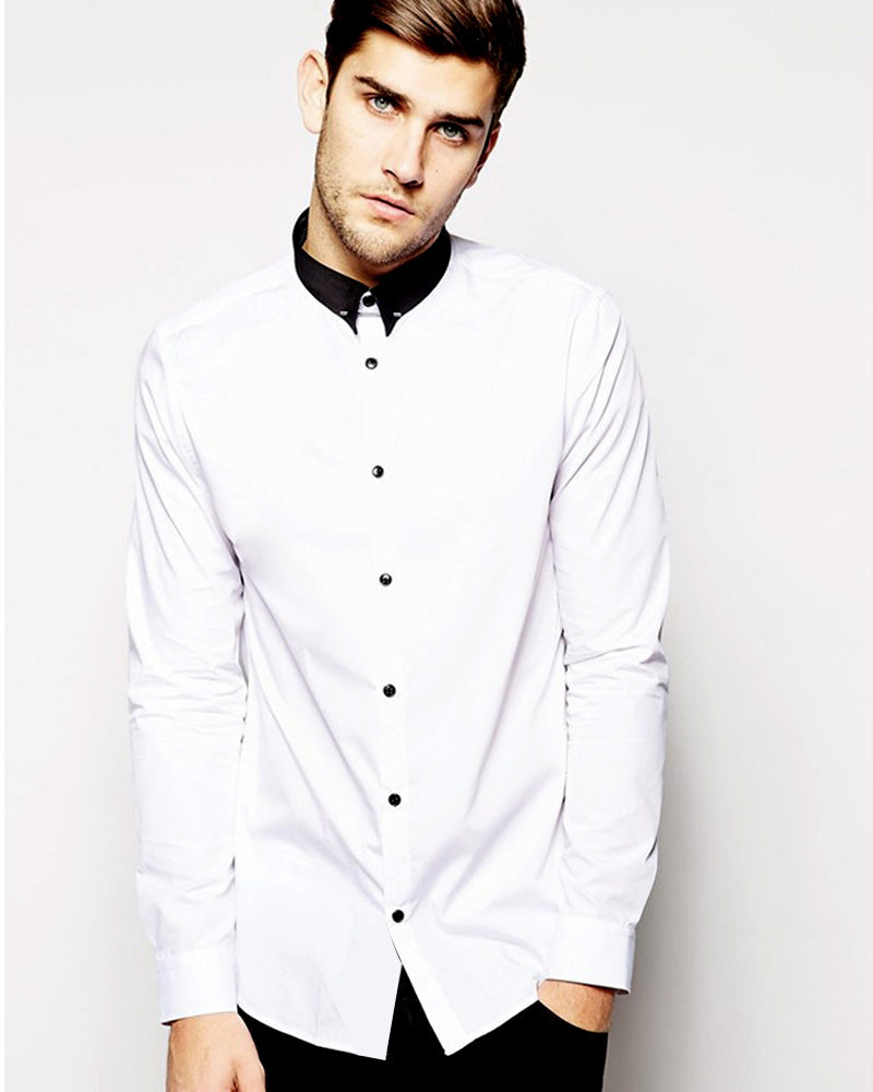 Buy Mens Cotton White Plain Shirt With Black Collar & Party Shirts By Tommy Hilfiger Online in Karachi, Lahore, Islamabad, Pakistan, Rs.{{amount_no_decimals}}, Mens Shirts Online Shopping in Pakistan, Tommy Hilfiger, Body Fit Shirts, Branded Shirts, Casual Shirts, cf-color-white, cf-size-large, cf-size-medium, cf-size-small, cf-size-x-large, cf-type-mens-shirts, cf-vendor-tommy-hilfiger, Classic Collar Shirts, Clothing, Color = White, Dress Shirts, Eid Collection Shirts, Export Stocklot, Full Sleeves Shirts, Men, Men Party Shirts, Mens Western Clothing, Polo Cotton Shirts, Shirts, Size = Large, Size = Medium, Size = X-Large, Slim Fit Shirts, Spring Shirts, Standard Collar Shirts, Summer Shirts, Online Shopping in Pakistan - diKHAWA Fashion