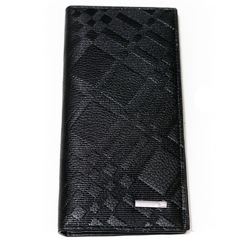 Bovi's Black Multi Function Leather Mens Card Wallet - Travel Wallets - Mens Card Wallets - diKHAWA Online Shopping in Pakistan