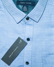 Mens Cotton Printed Shirt - Casual Shirts By Tommy Hilfiger