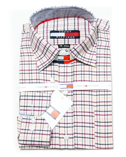 Cotton Check Shirts for Men - Tommy Hilfiger Men's Shirts