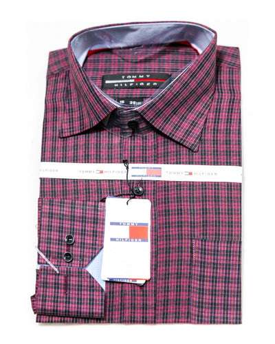 Cotton Check Shirts for Men - Tommy Hilfiger Men's Shirts - Men Shirts - diKHAWA Online Shopping in Pakistan