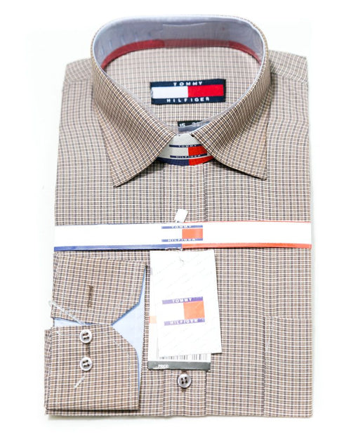 Check Shirts for Men - Tommy Hilfiger Men's Formal Shirts