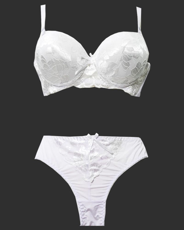 Bridal Pushup Plus Size Bra Panty Sets - Single Padded Underwired Bra Panty Sets - BS2002 - Bra Panty Sets - diKHAWA Online Shopping in Pakistan