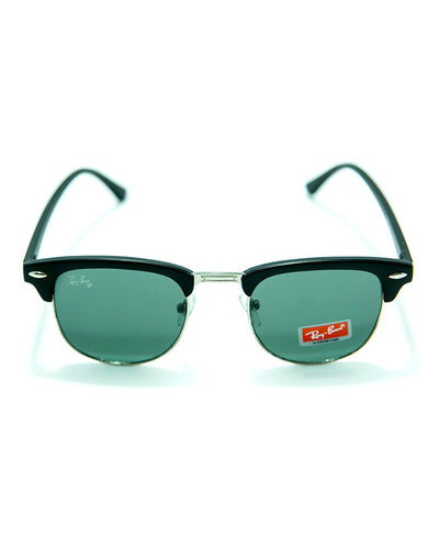 Ray Ban Sunglasses For Men With Mate Frame - MS47
