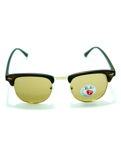 Ray Ban Sunglasses For Men With Mate Frame - MS48