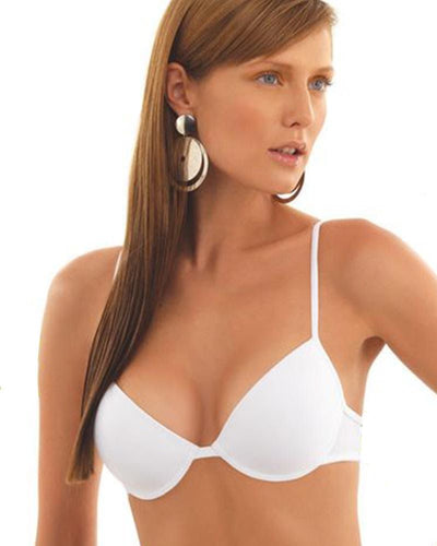 Sexy White Bridal Bra , Single Padded - Under Wired Bra - By Kelitha (Italian Brand)