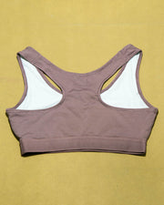 Mitch & Co. Sports Bra - Ladies Gym Bra - Non Padded Padded with Tank Top