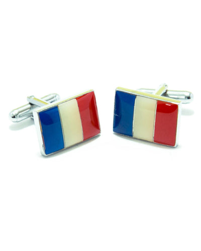 France Flag Cufflinks For Man's