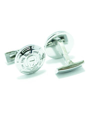 Designer Metal Cufflinks For Men – Best Mens Cufflinks -  Round Shaped