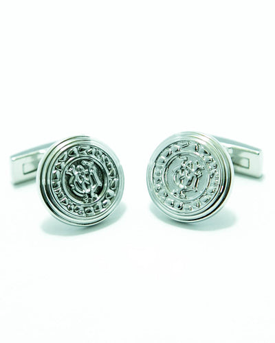 Exclusive Design Sterling Silver Cufflink For Men – Best Mens Cufflinks -  Round Shaped