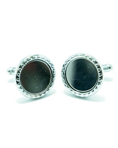 Stainless Steel Mens Cufflinks – Best Choice For Mans - Rounded Shaped