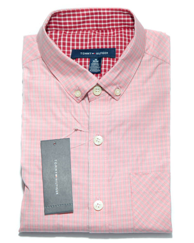 Mens Checkered Shirts - Casual Shirts By Tommy Hilfiger
