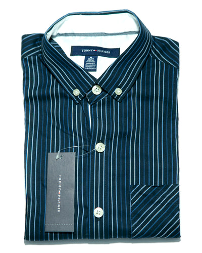Mens Lining Shirts - Casual Shirts By Tommy Hilfiger
