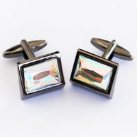 Multi Shade Stone Cufflinks For Man  – Best Choice For Mans