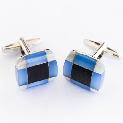 Multi Coloured Stone Cufflinks For Man  – Best Choice For Mans