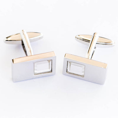 Mens Branded Cufflinks With Crystal – Branded Cufflinks For Mans