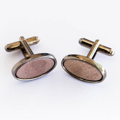 Mens Cufflinks With In Stylish Copper Look – Best Choice For Mans
