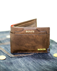 Buy Bovi's Leather Mens Wallet - MW-301 Online in Karachi, Lahore, Islamabad, Pakistan, Rs.{{amount_no_decimals}}, Mens Wallets Online Shopping in Pakistan, Bovi's, 100% Original, Accessories, Color = Brown, Leather Wallets, Material = Leather, Men, Wallets, Online Shopping in Pakistan - diKHAWA Fashion