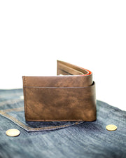 Bovi's Leather Mens Wallet - MW-301