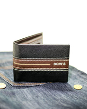 Bovi's Leather Mens Wallet - MW-303