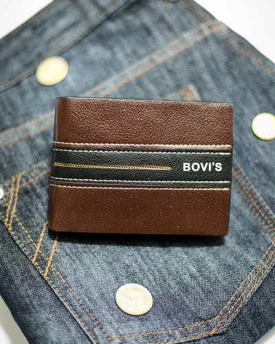Bovi's Leather Mens Wallet - MW-304