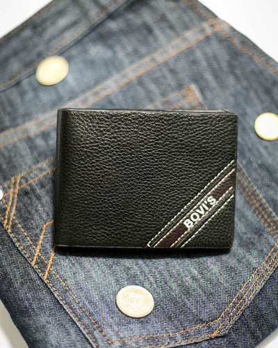Bovi's Leather Mens Wallet - MW-308