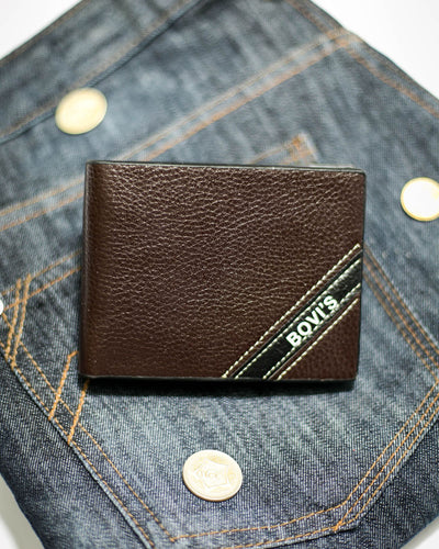 Bovi's Leather Mens Wallet - MW-309