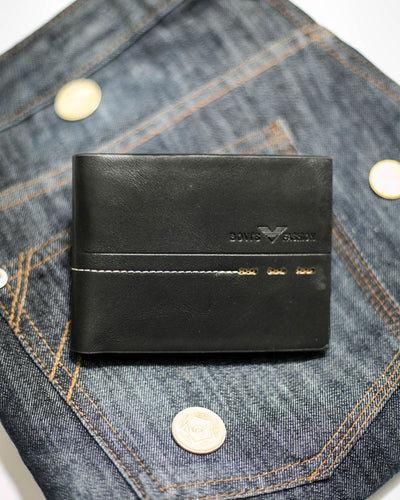 Bovi's Leather Mens Wallet - MW-312