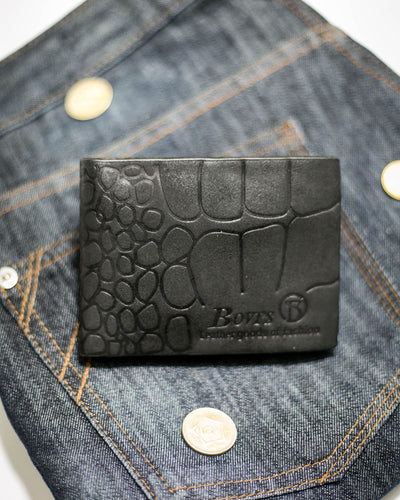 Bovi's Leather Mens Wallet - MW-314