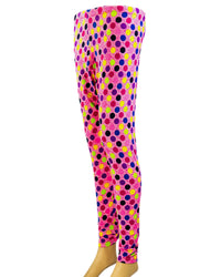 Colorful Polka Dotted Cotton Sleepwear For Women