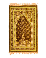 Janamaz - Brown Velvet Janamaz B110 - Export Quality